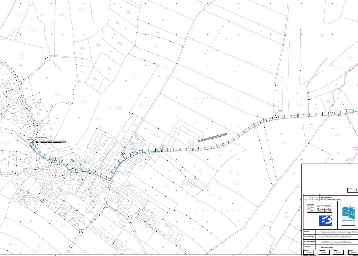 31 Neubau einer LWL-Kabelschutzrohranlage in Seefeld
